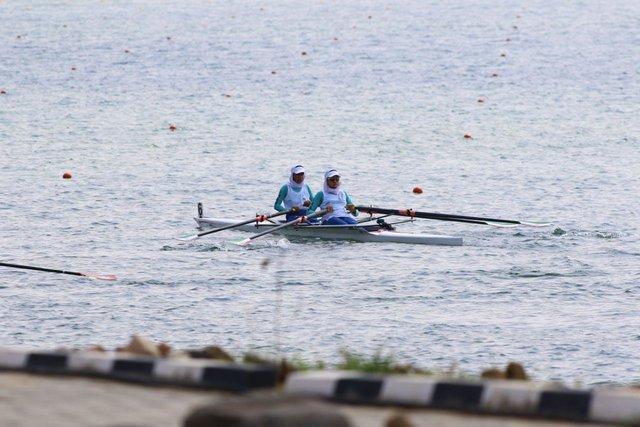 قایق دو نفره بانوان ایران به فینال بازی های آسیایی صعود کرد