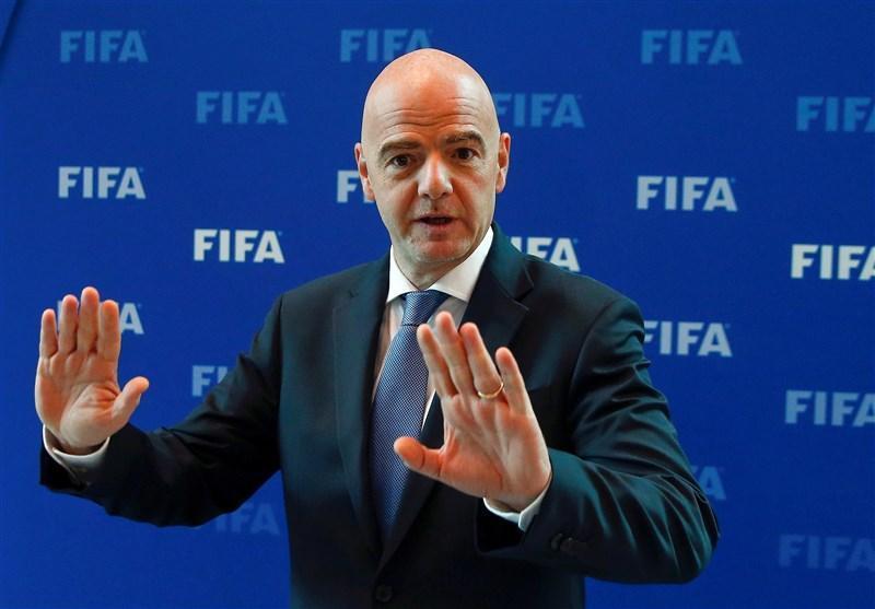 اینفانتینو: شاید برخی بازی های جام جهانی 2022 در کشورهای همسایه قطر برگزار گردد
