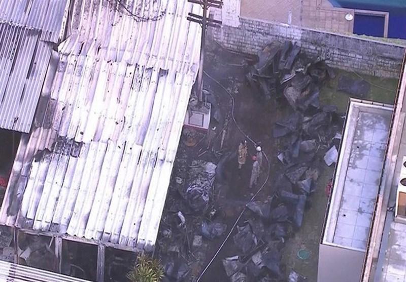 13 کشته و زخمی در حادثه آتش سوزی در مرکز تمرینی تیم فلامنگوی برزیل