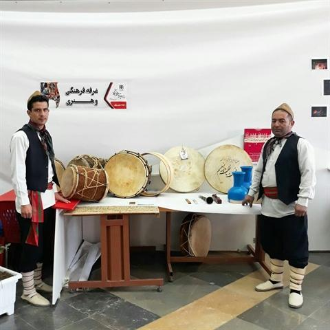 نمایشگاه صنایع دستی گلبانو در سبزوار بر پا شد