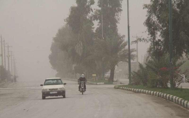 هوای اهواز و بوشهر در شرایط ناسالم قرار گرفته است
