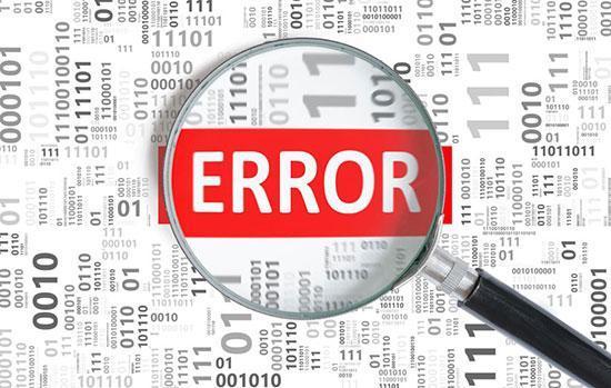 رایج ترین خطا ها در اینترنت و نحوه برطرف کردن آن ها