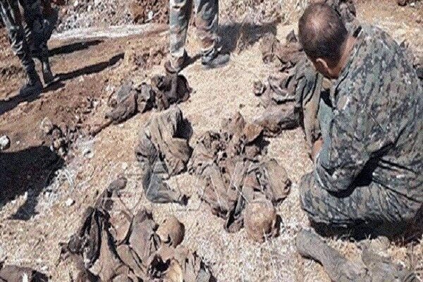 کشف گور دسته جمعی حاوی اجساد نیروهای سوری در حومه حماه