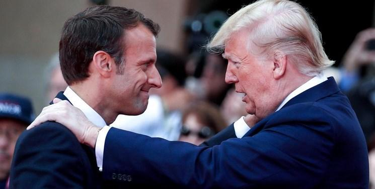 دیپلمات فرانسوی: ماکرون طرح خود را درباره ایران به ترامپ ارائه کرد