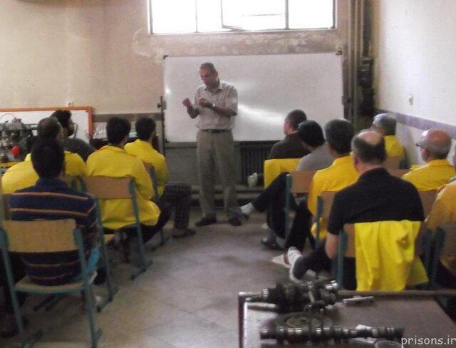 شش دوره آموزشی فنی و حرفه ای در بازداشتگاه اوین برگزار می شود