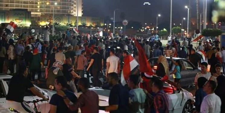 الجزیره از شروع تظاهرات علیه السیسی در پایتخت مصر اطلاع داد
