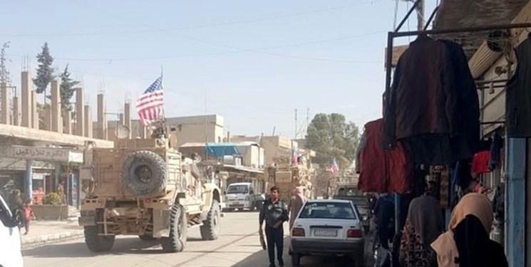 عملیات گشت زنی نظامیان آمریکایی در شمال سوریه