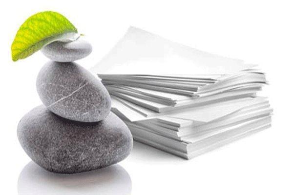کاغذی که سفیر مرگ درختان نیست، سنگ، کاغذ، چاپ ...