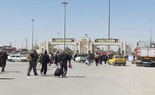 70 درصد زائران اربعین کشور از مرز مهران تردد می نمایند