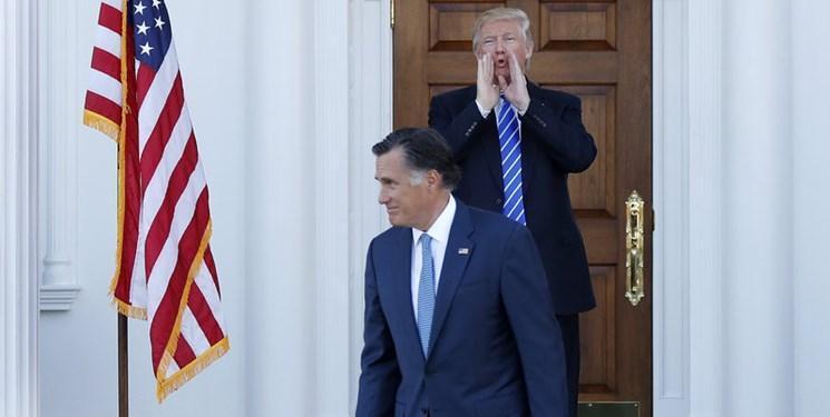 تحرکات میت رامنی سناتور جمهوری خواه برای استیضاح ترامپ