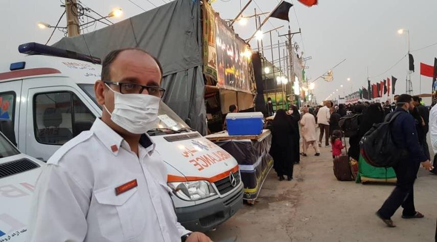امدادرسانی اورژانس به 300هزار زائر ایرانی و خارجی اربعین ، انتقال 430 مصدوم به مرزها
