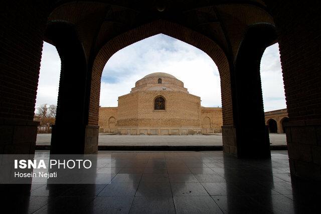اقدامات مرمتی و ساماندهی مسجد کبود در راستای احیای این اثر ارزشمند تاریخی