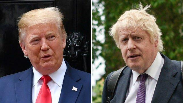 خوشحالی ترامپ از پیروزی بوریس جانسون در انتخابات انگلیس
