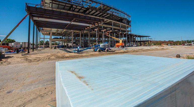 فوم عایق XPS در صنعت ساختمان