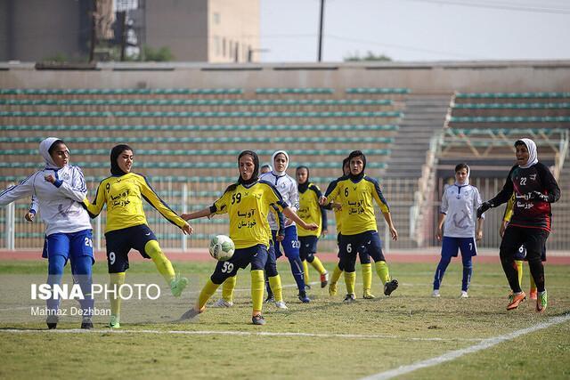 شکست سنگین آویسا خوزستان در هفته نهم لیگ برتر فوتبال بانوان