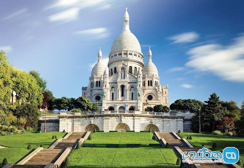 باغ های لوکسمبورگ و سکره کر در پاریس فرانسه