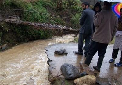 2 هزار مسافر گرفتار سیل در شهرستان رابر نجات یافتند