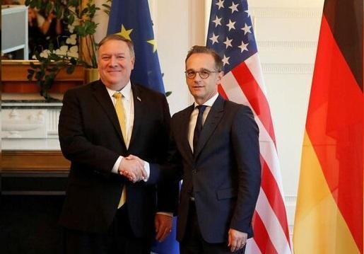 گفت وگوی وزرای خارجه آمریکا و آلمان درباره ایران