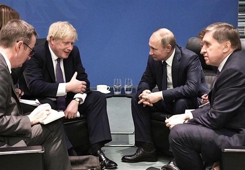 ملاقات پوتین و جانسون در برلین؛ امیدی به بهبود روابط روسیه-انگلیس نیست