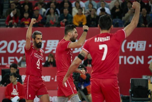 تیم ملی والیبال شانس حضور در جمع 4 تیم برتر المپیک توکیو را دارد