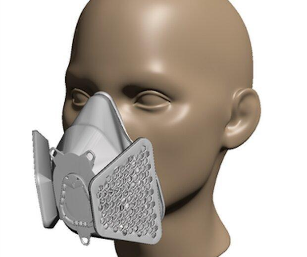 ساخت ماسک در خانه با پرینتر سه بعدی امکانپذیر شد