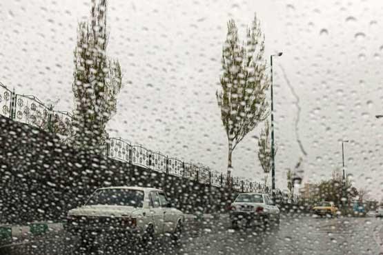 ادامه بارش های پراکنده در نقاط مختلف کشور