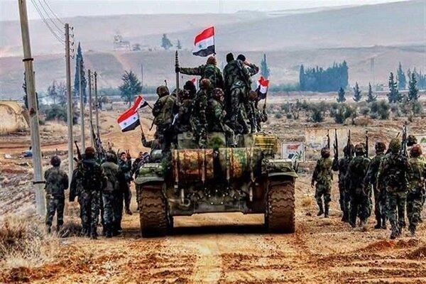 تسلط ارتش سوریه بر معرة الصین در حومه جنوبی ادلب
