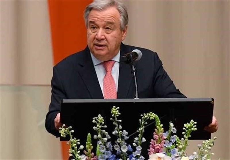 دبیرکل سازمان ملل خواستار بررسی و شناسایی اثرات تحریم ها بر فرایند مبارزه با کرونا شد