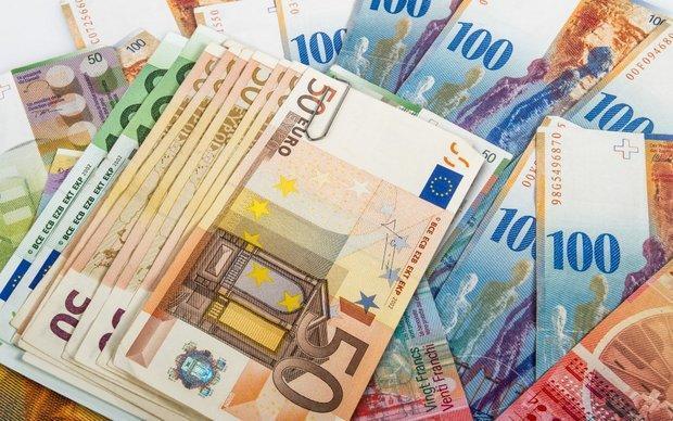 نرخ رسمی 29 ارز کاهش یافت، افت قیمت یورو و پوند انگلیس