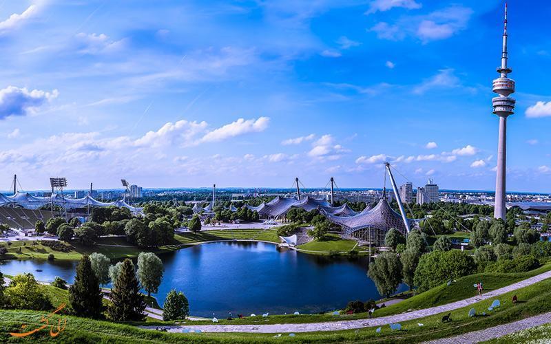ورزشگاه المپیک مونیخ، محلی برای تماشای مهمترین بازی های فوتبال