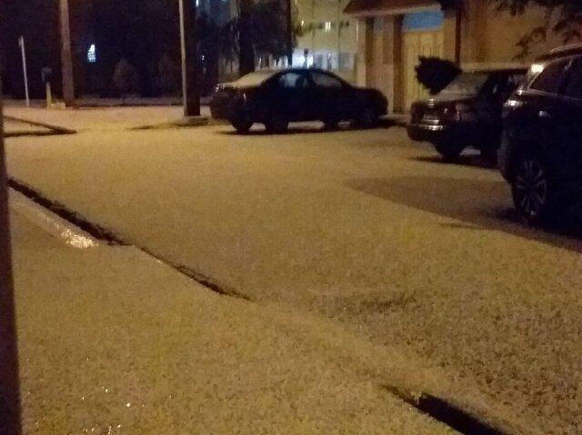 باران و برف و رگبار تگرگ، آخر هفته قم را خیس و سرد کرد، آمادگی برای مواجهه با سیلاب