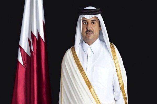 امیر قطر حادثه آتش سوزی در کلینیک سینا را تسلیت گفت