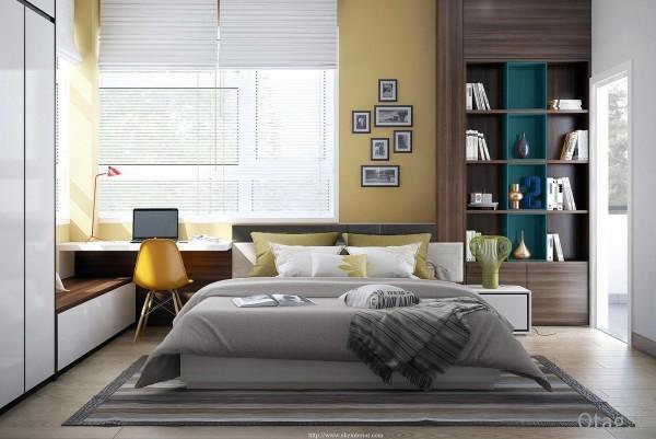 روشهای طراحی داخلی و دیزاین اتاق خواب همراه با عکس