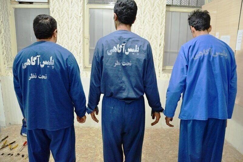 خبرنگاران اعضای باند آدم ربایی در گناوه دستگیر شدند