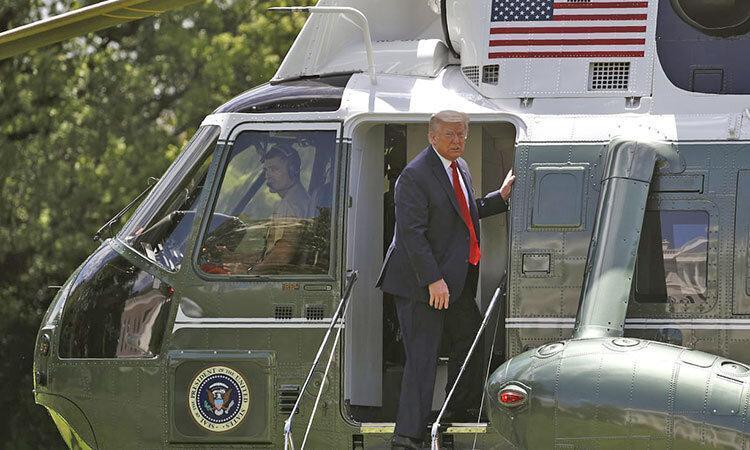 آتش، طاعون و کشوری درگیر جنگ ، این سرانجام رسمی ریاست جمهوری ترامپ است