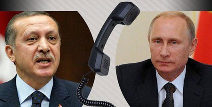 گفت وگوی تلفنی پوتین و اردوغان درباره تنش ها میان آذربایجان و ارمنستان