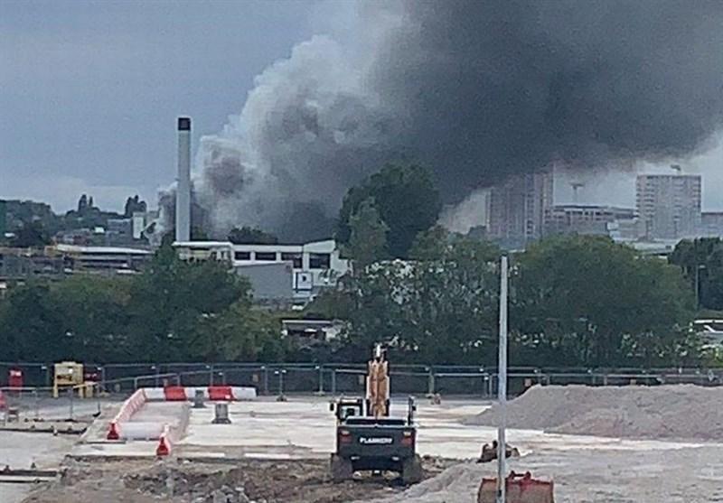 وقوع آتش سوزی مهیب در غرب لندن
