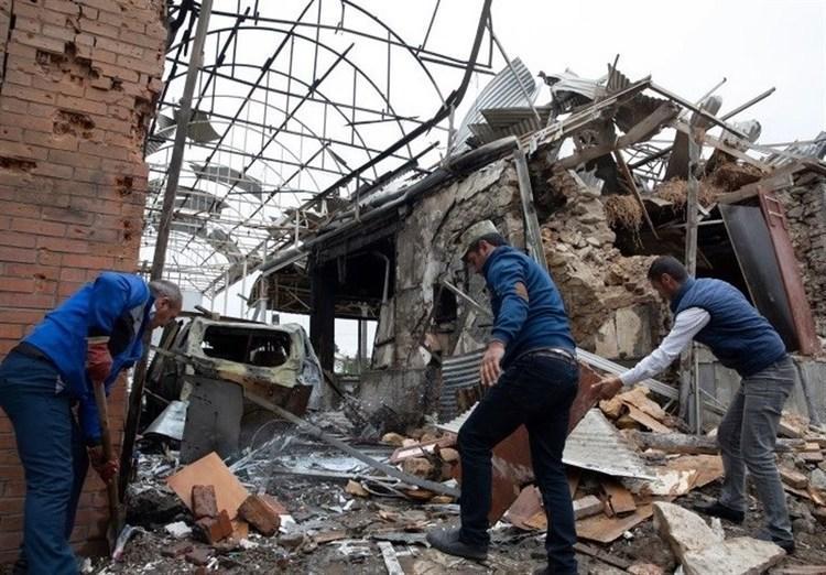 حمله موشکی ارمنستان به دو شهر جمهوری آذربایجان