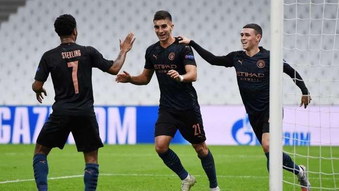 مارسی 0-3 منچسترسیتی؛ پیروزی راحت پسران پپ