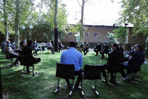جلسه مدیران فدراسیون کشتی در فضای باز برگزار شد