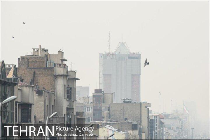 پایداری آلودگی هوا در شهر تهران