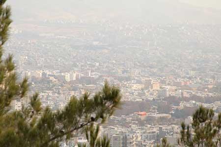 پایداری آلودگی هوا در تهران ، جولان ذرات معلق در ششمین روز متوالی