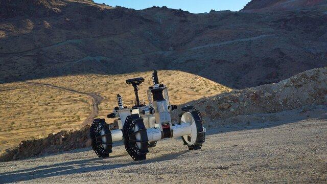 مریخ نورد جدید ناسا برای کشف دهانه ها دو نیم می شود