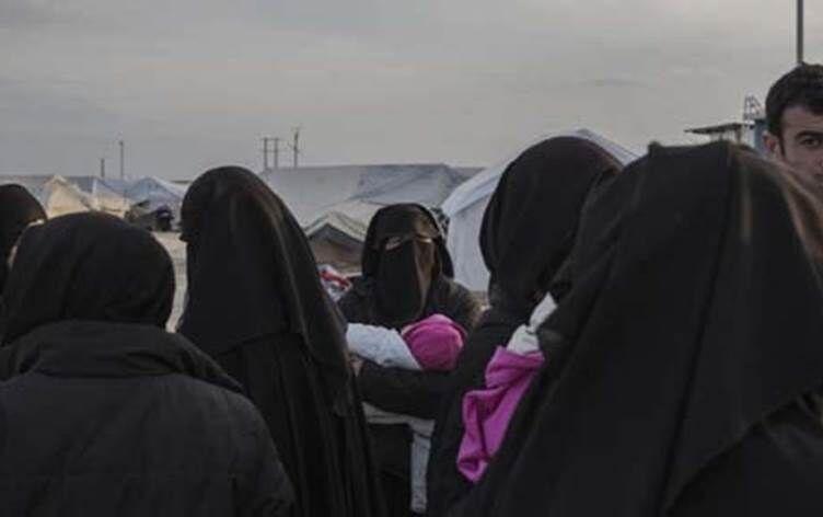 دستگیری خانواده های داعش در مرز عراق و سوریه