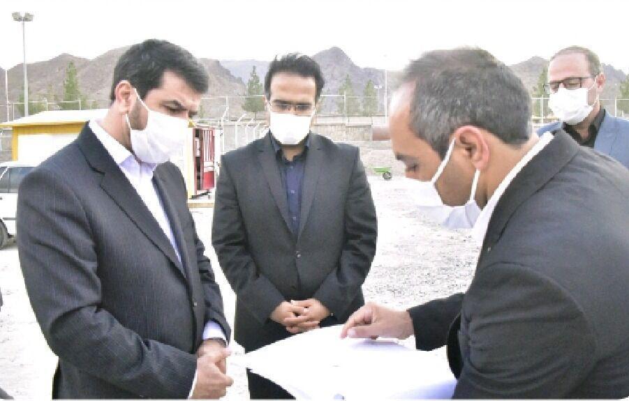 خبرنگاران استاندار خراسان جنوبی از پروژه های عمرانی شهر بیرجند بازدید کرد