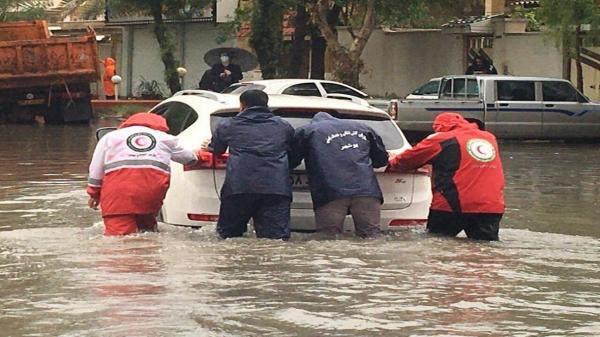 خبرنگاران 20 تیم امدادی هلال احمر در مناطق سیلزده بوشهر فعال است