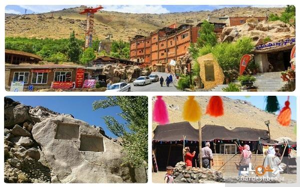 مجموعه تاریخی گنجنامه؛ گردش و تفریح یک روزه در همدان
