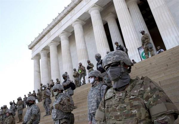 پنتاگون 6200 نیروی گارد ملی آمریکا را به حالت آماده باش در آورد