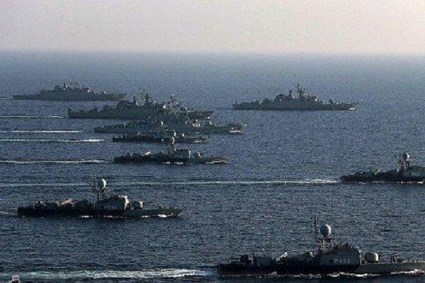 رزمایش دریایی ایران، روسیه و چین در اقیانوس هند برگزار می گردد