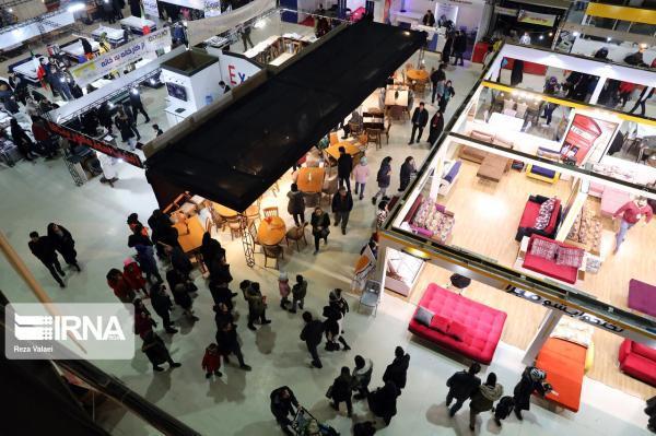 خبرنگاران نمایشگاه سراسری مبل و دکوراسیون اراک تعطیل شد